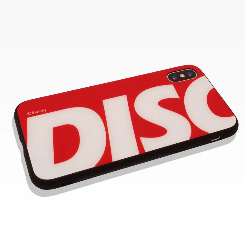 DISC UP iPhoneケース(iPhoneX,XS対応)